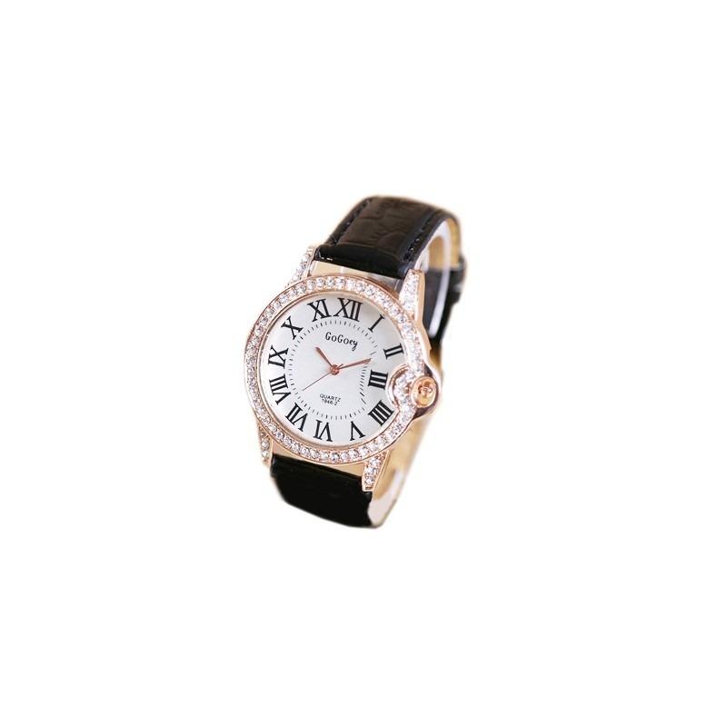 dda944d2cd0 Relógio Feminino Luxo Pulseira Em Couro