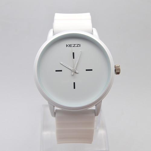 relógio feminino luxo pulseira silicone promoção barato novo
