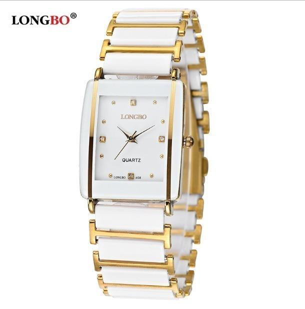 ccf46d634ca Relógio Feminino Longbo Marca De Luxo Promoção