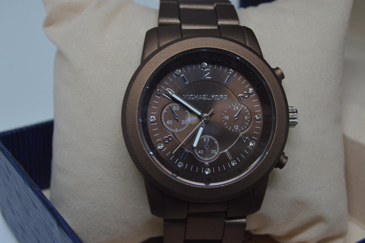 807f03ec6a2 Relógio feminino marrom fosco com pedras pulseira de aço carregando zoom  jpg 1200x798 Relogios femininos marrom