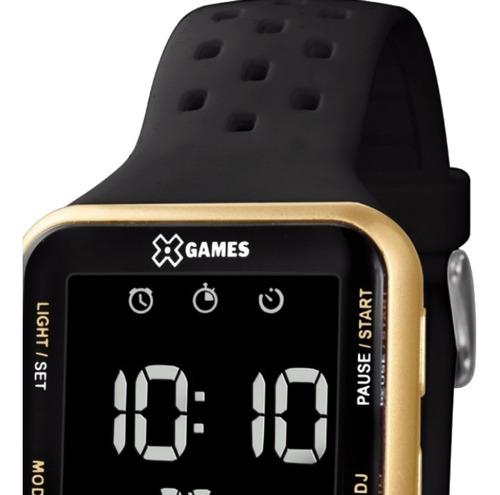 relógio feminino masculino digital  x games prova d'água