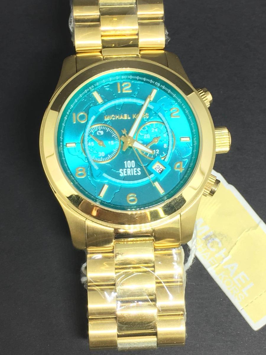 44348a0a218 Relógio Feminino Michael Kors Mapa Mundi Mk8315 - R  420