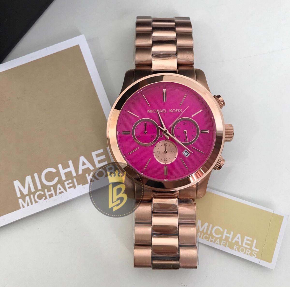 994a4bc2f00 relogio feminino michael kors mk5931 rosa lindo garantia. Carregando zoom.
