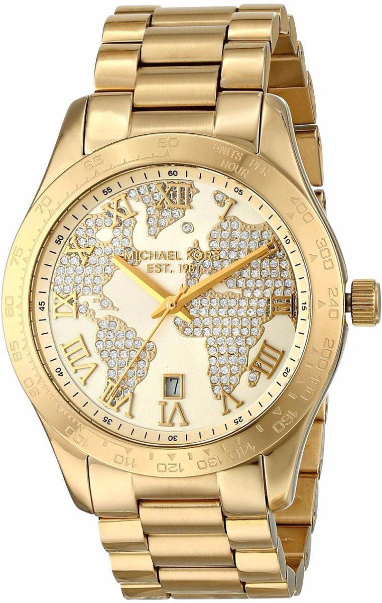 d50df3e77b4 relogio feminino michael kors mk5959 dourado 100%original. Carregando zoom.