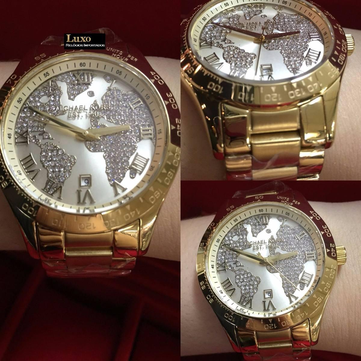76e64e631a9 Relógio Feminino Michael Kors Mk5959 Dourado