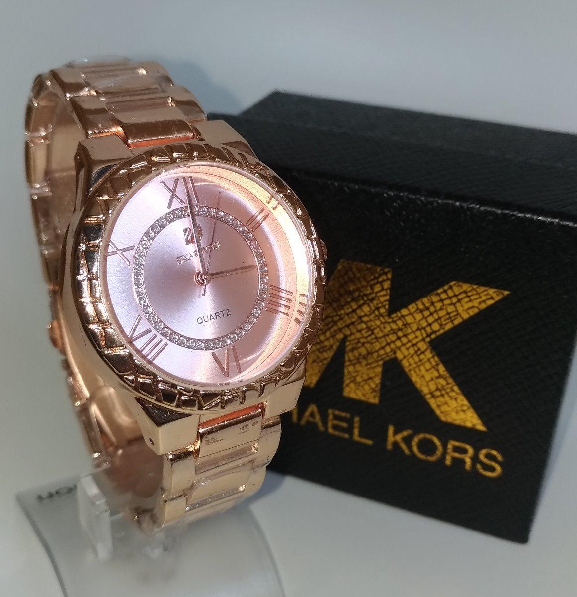fd2145c50b8 relógio feminino mk dourado rosa novo mulher promoção barato. Carregando  zoom.
