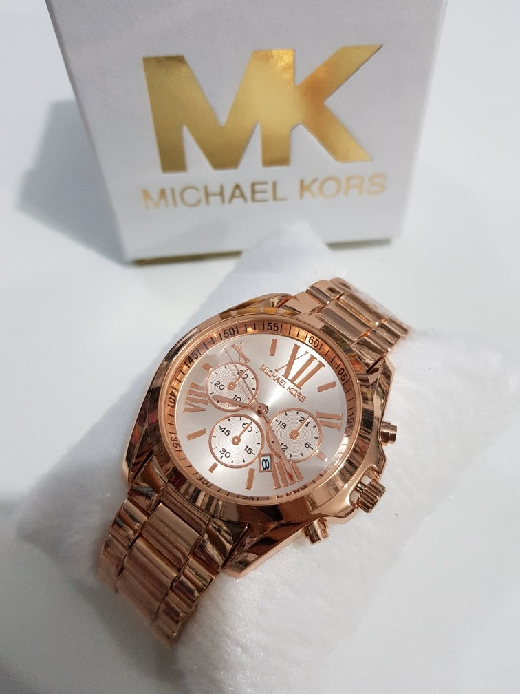 d49a86b09d6ef relógio feminino mk fosco rose prata preto dourado brilhante. Carregando  zoom.