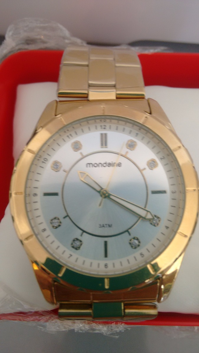 9eced71d865 Carregando zoom... feminino mondaine relógio. Carregando zoom... lindo  relógio feminino mondaine de luxo caixa de 4 cm