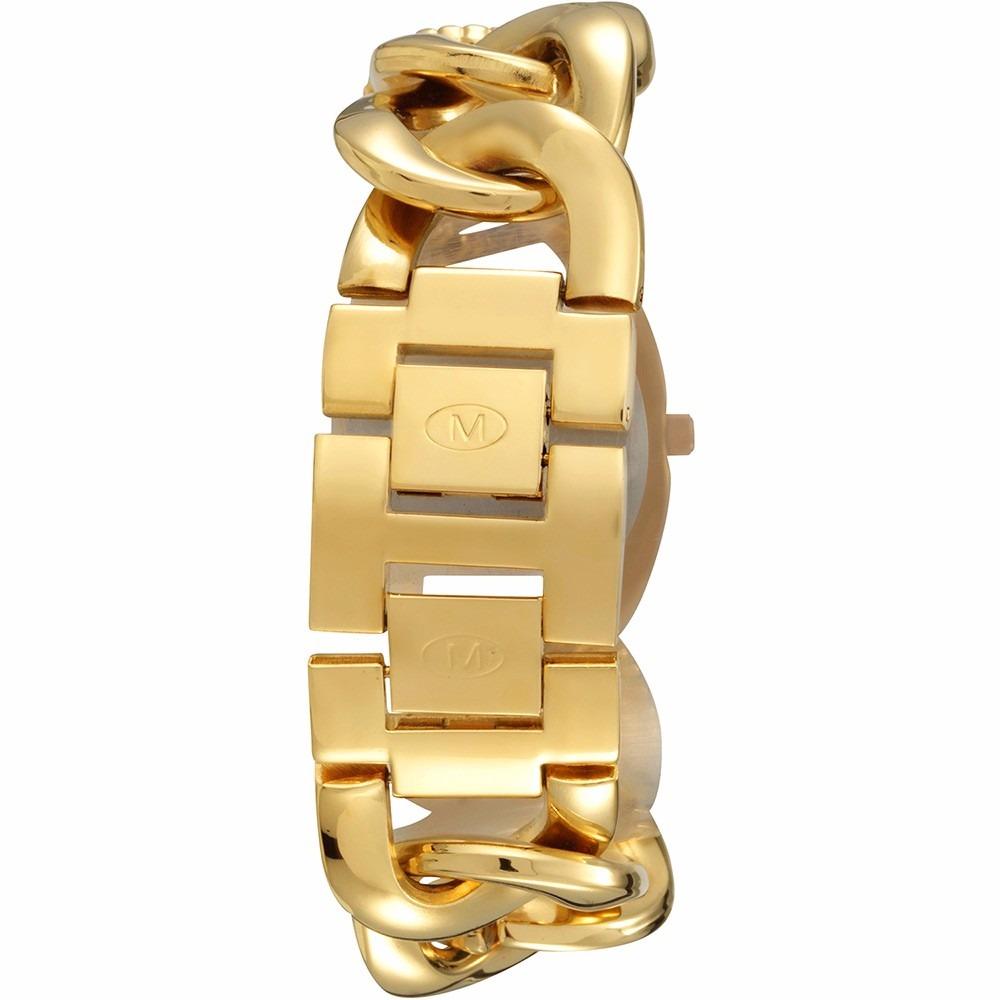 0f1b5b567d6 Frete Grátis Relógio Feminino Mondaine Corrente Dourado - R  95