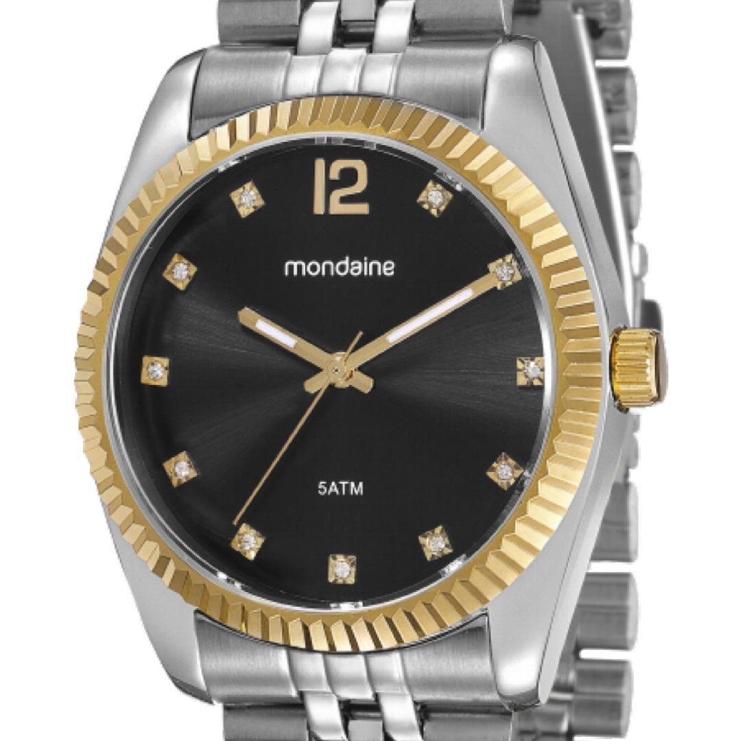 e0ab4f637c0 relógio feminino mondaine prata estilo rolex 99175lpmvbs4. Carregando  zoom... relógio feminino mondaine. Carregando zoom.