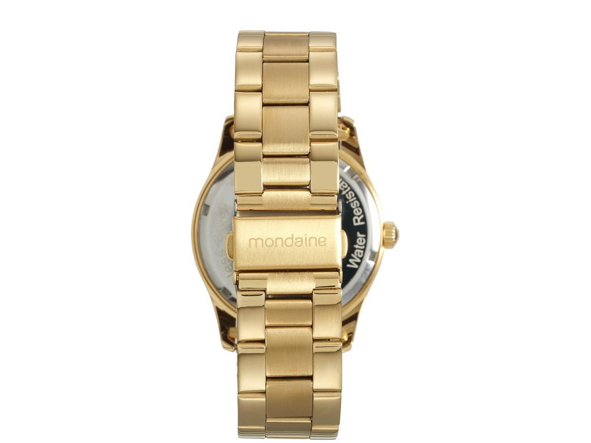 009260e6e9af8 Relogio Feminino Dourado Mondaine C  Cristal 83386lpmvde1 - R  149 ...