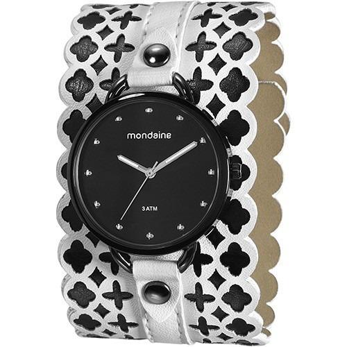 relógio feminino mondaine analógico 76395lpmvph1