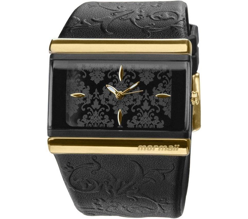 ce7addc0d16 Relógio Feminino Mormaii Trend 2035eep 8p Original - Preto - R  189 ...