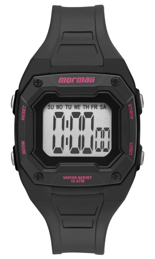Relógio Feminino Mormaii Cronógrafo, Digital Mo9451aa 8t P - R  170 ... ec97dc1d46