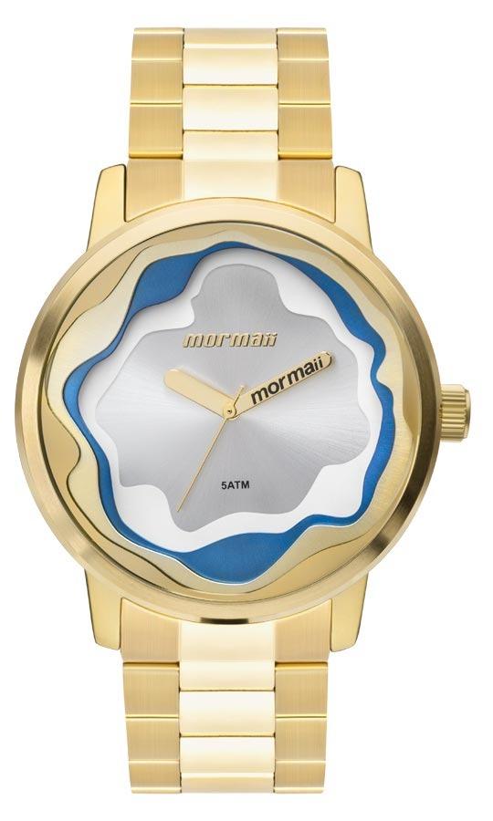0a4257fa02a Relógio Feminino Mormaii Analógico Mo2035iw 4d Ouro - R  239