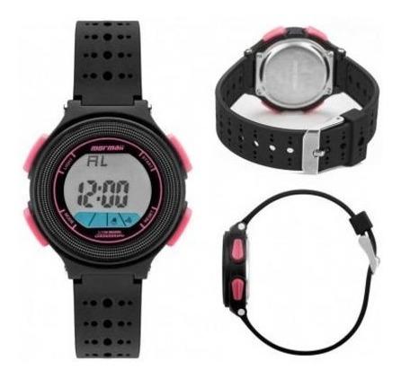 relógio feminino mormaii digital infantil  mo0974b/8t