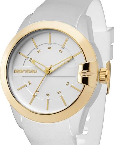 relógio feminino mormaii mauii branco