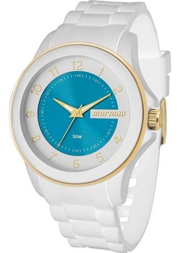 relógio feminino mormaii - mo2035an/8b ( rev. autorizada) nf