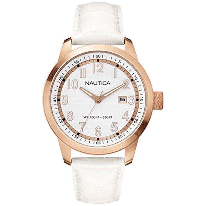 36aaa41c2ed Relógio Feminino Nautica Nct 401 Date Analógico A16621g - R  412