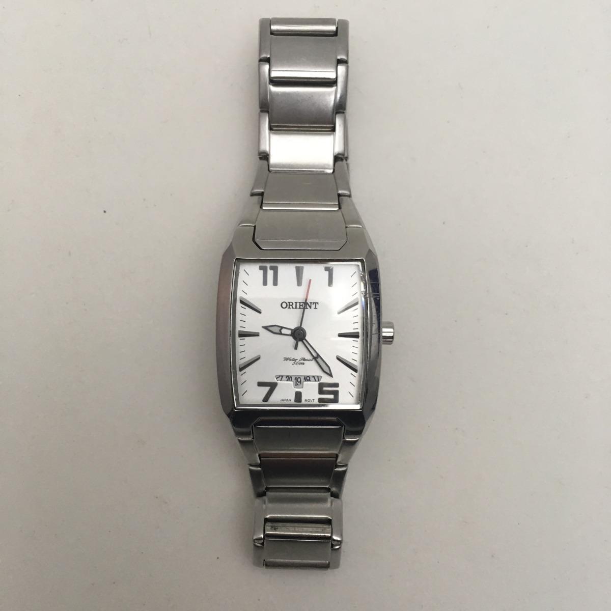 5541286237b Relógio Feminino Orient 50 M Usado - R  110