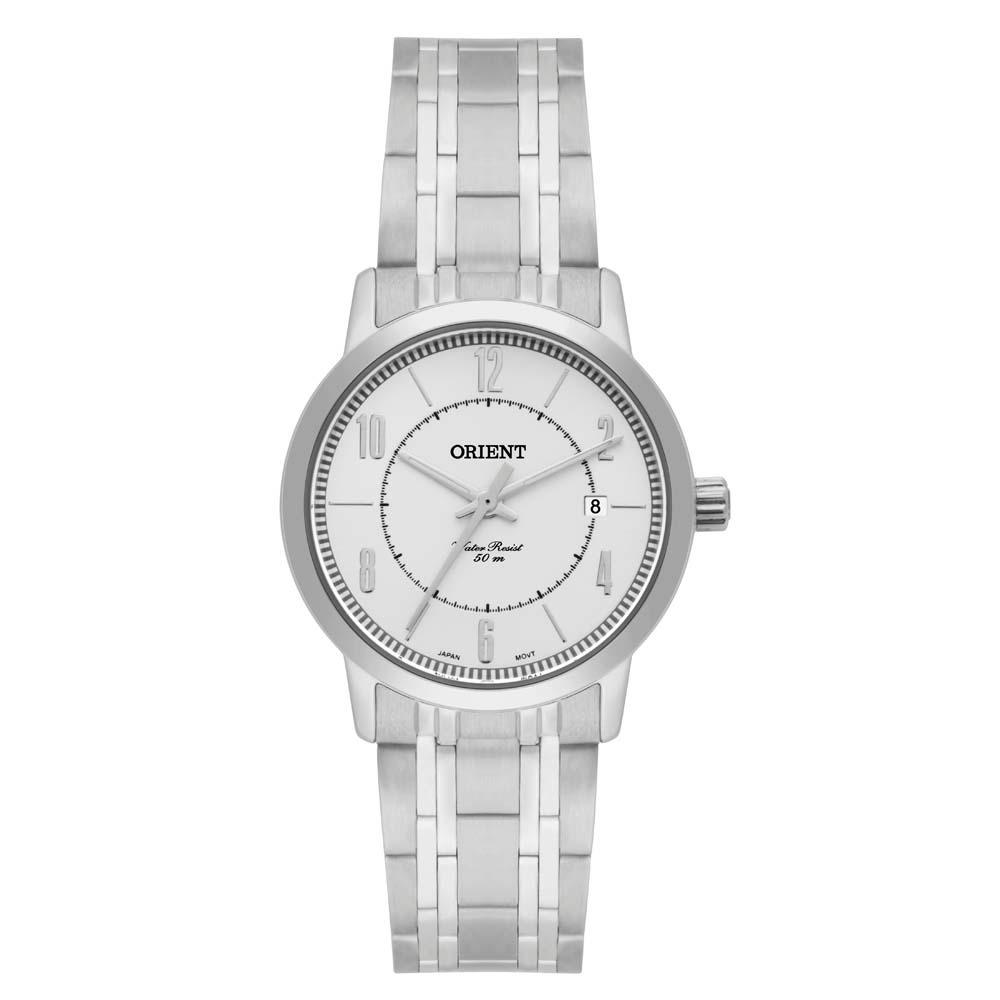 b8f99643978 Relógio Feminino Analógico Orient Fbss1114 S2sx - Prata - R  206