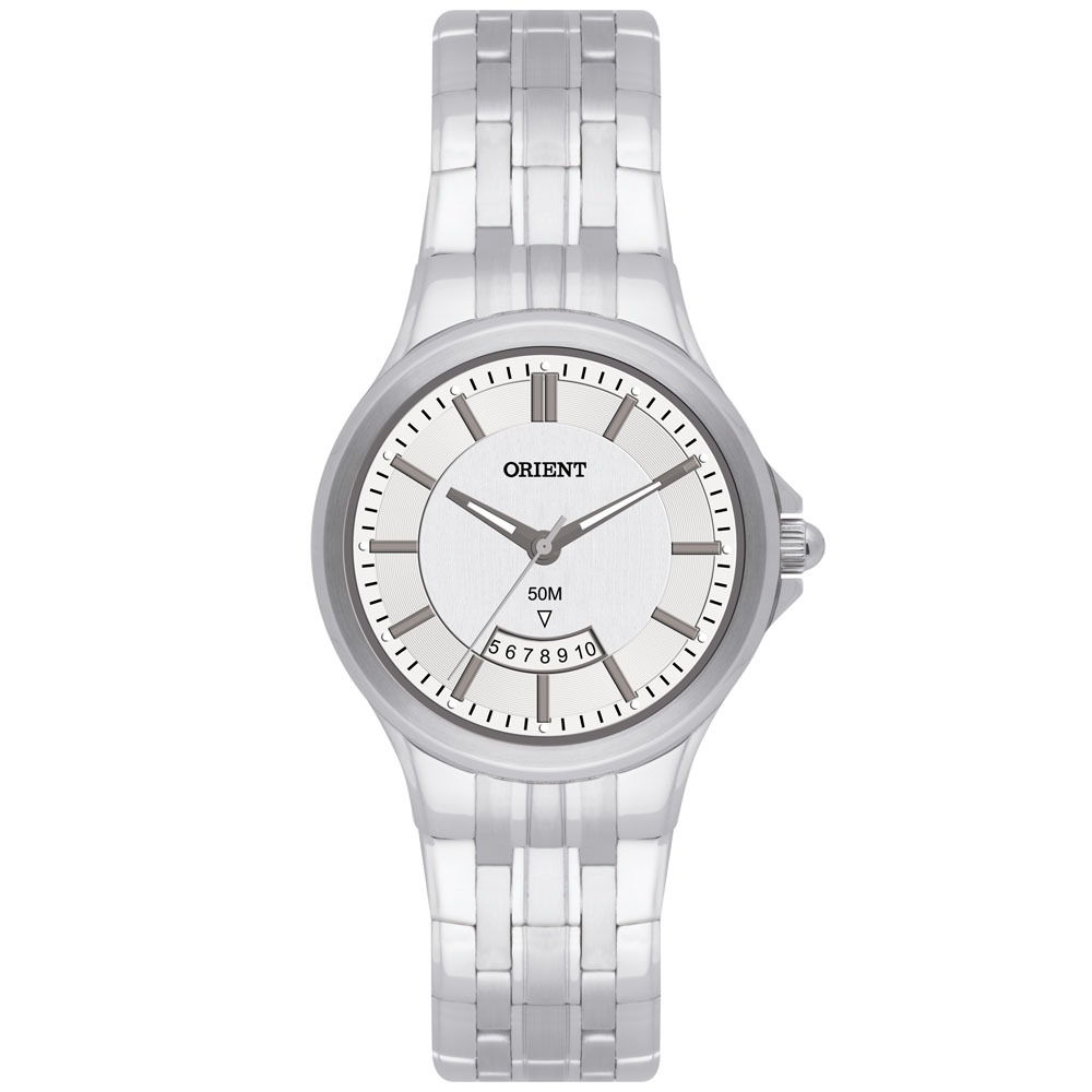 ba49b0b305c Relógio Feminino Analógico Orient Fbss1067 - Prata - R  195