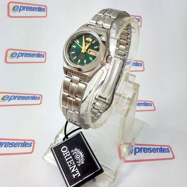 e09d75e6e0b Relógio Feminino Orient Automatico Mini 25mm Fnq1a00af9 - R  384