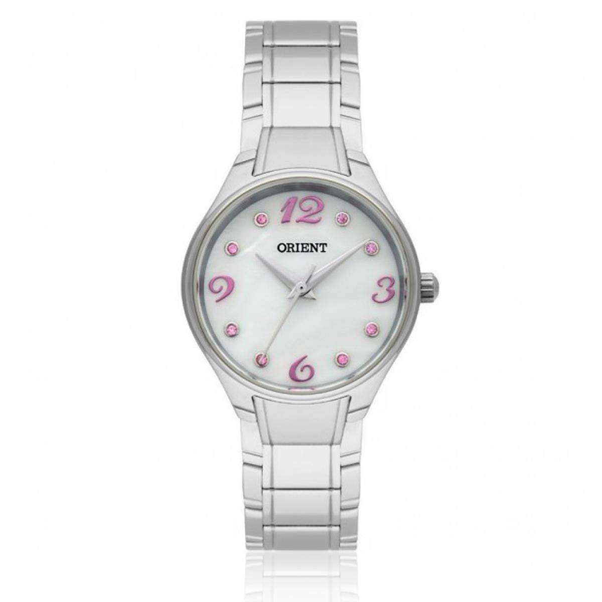 87e816caa Relógio Feminino Orient Fbss0052 Brsx Cristais Rosas - R$ 260,00 em ...