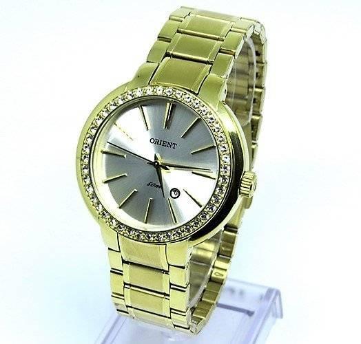 2e64a29483 Relógio Feminino Orient Fgss1104 S1kx Dourado - R  557