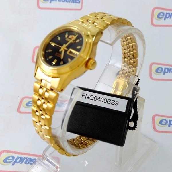 relógio feminino orient automatico dourado mini fnq0400bb9 relógio feminino  orient mini c53e87ddf6