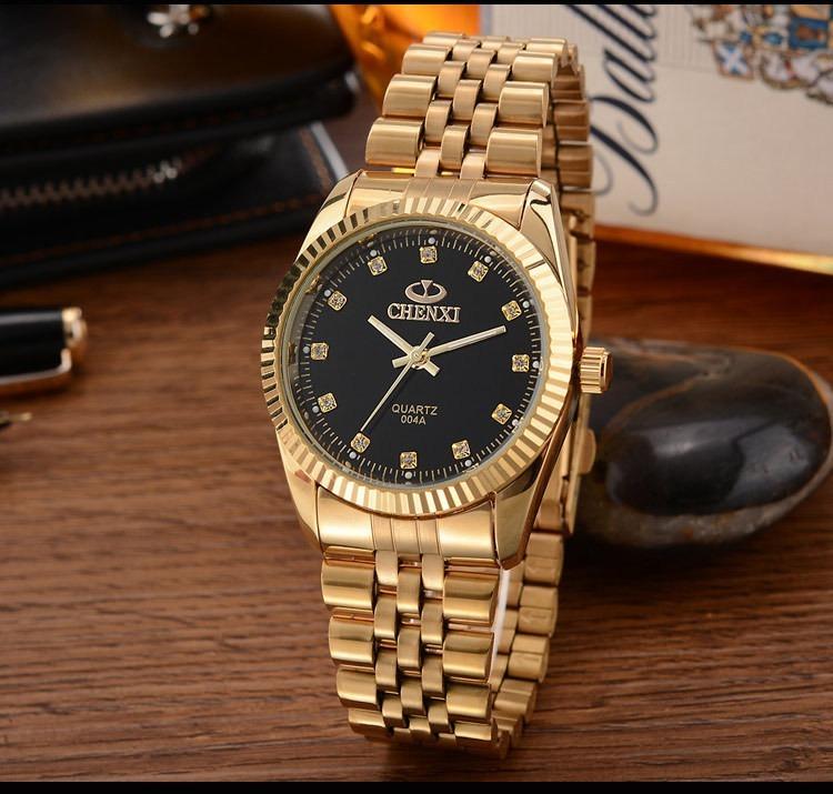 c2f30db24aa Relógio Feminino Original Chenxi Cravejado + Frete Grátis - R  145 ...