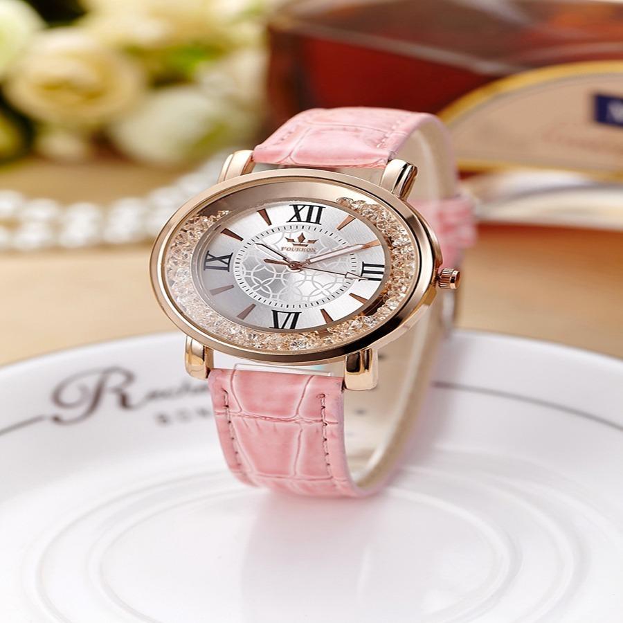 57a80db85d8 relógio feminino original couro brinde caixa. Carregando zoom.
