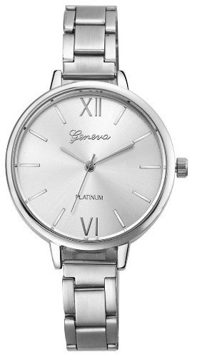 2ef7d98a6fe Relógio Feminino Original Geneva Menor Preço C  Garantia - R  49