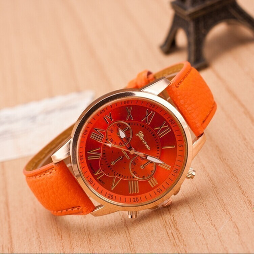 relógio feminino para revenda kit 10 atacado dourado barato