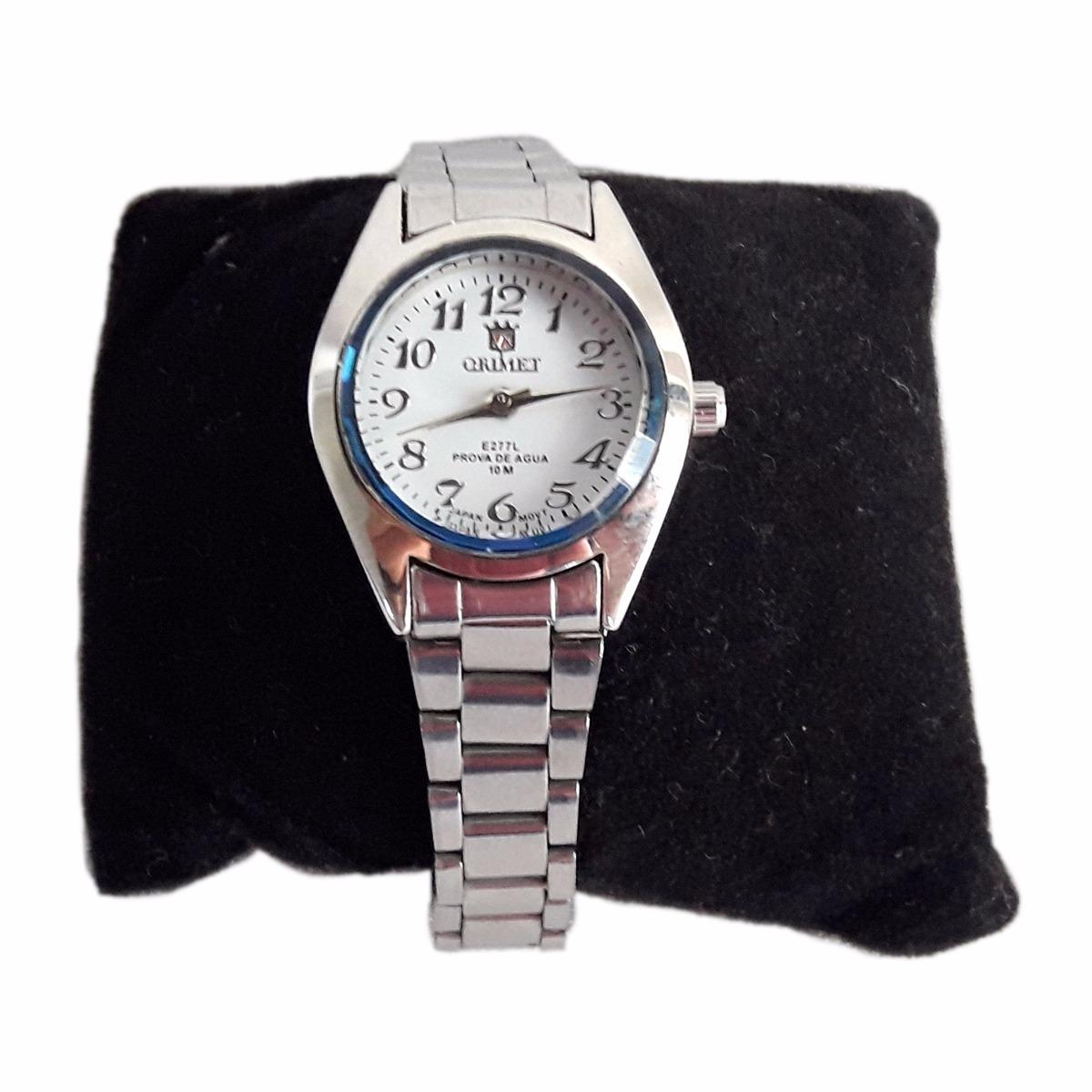 91a94206de0 relógio feminino pequeno aço barato pronta entrega. Carregando zoom.