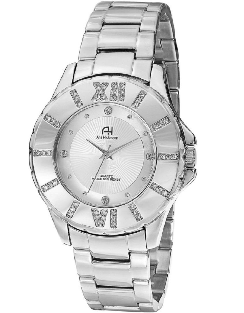 3985b0feb813c Relógio Feminino Prata Original Ana Hickmann - R  288,99 em Mercado ...