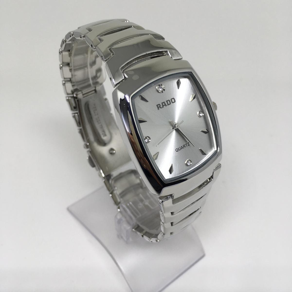 2265790cdfc relógio feminino prateado quadrado lindissimo frete gratis. Carregando zoom.