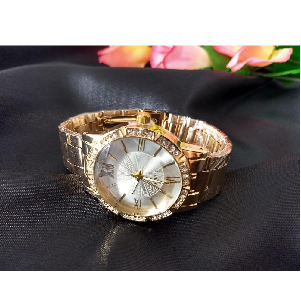 d5e90a102b0 Relógio Feminino Pulseira Aço Casual Barato - R  15