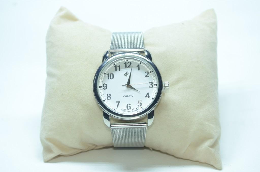 eb4ec97c53a relógio feminino pulseira aço inox lindo barato oferta. Carregando zoom.