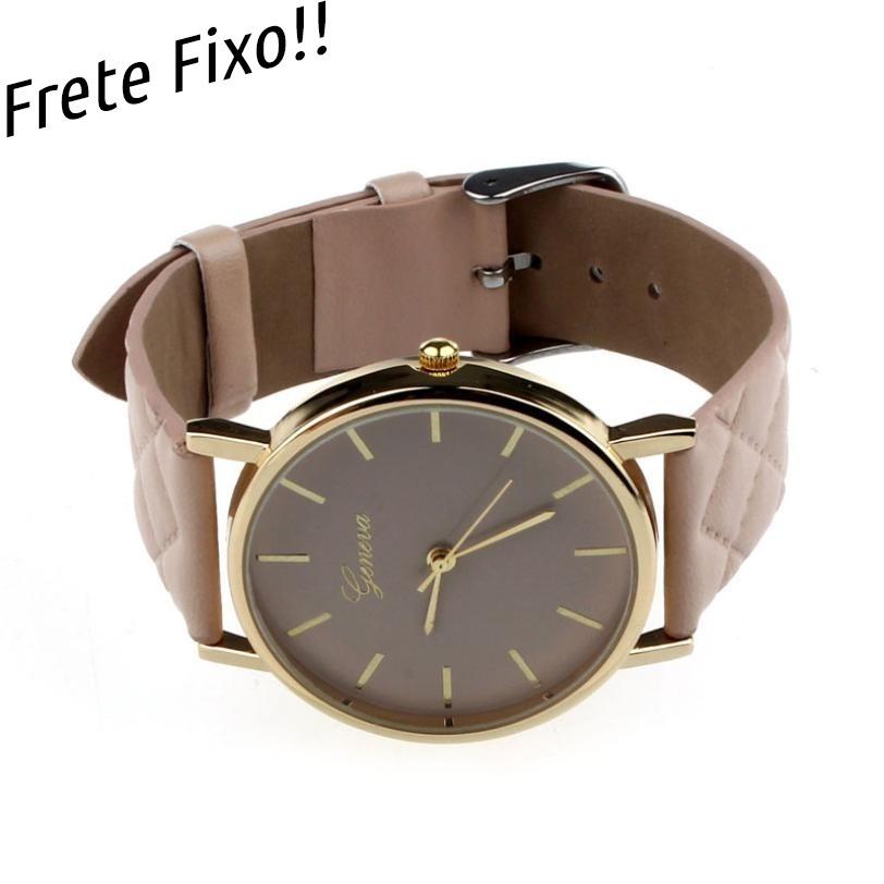 c16a31c6d0c relógio feminino pulseira de couro barato pingente vários. Carregando zoom.