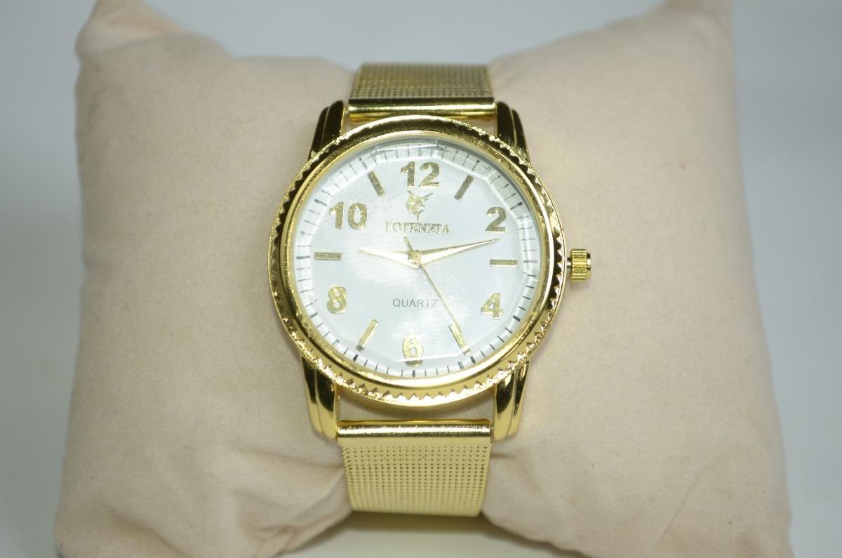 1d64c1b2b24 Relógio Feminino Pulseira Dourada Lindo Barato Envio Já - R  29