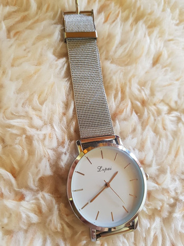 ceb134ecc06 Relógio Feminino Pulseira Em Malha De Aço Promoção Barato