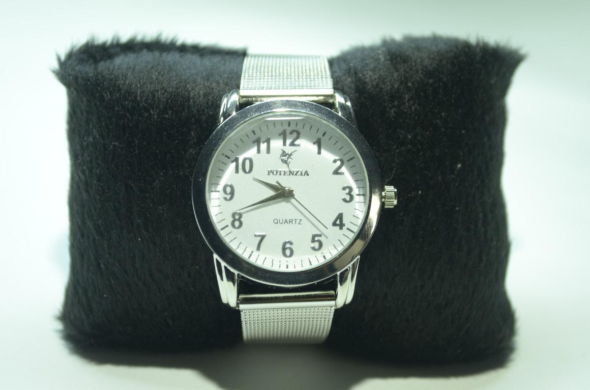7ff6b4ed804 relógio feminino pulseira prateada aço lindo barato- oferta. Carregando  zoom.