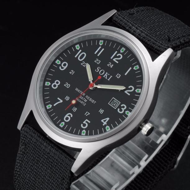 b6817f73466 Relógio Feminino Pulso Soki Preto Promoção Barato - R  49