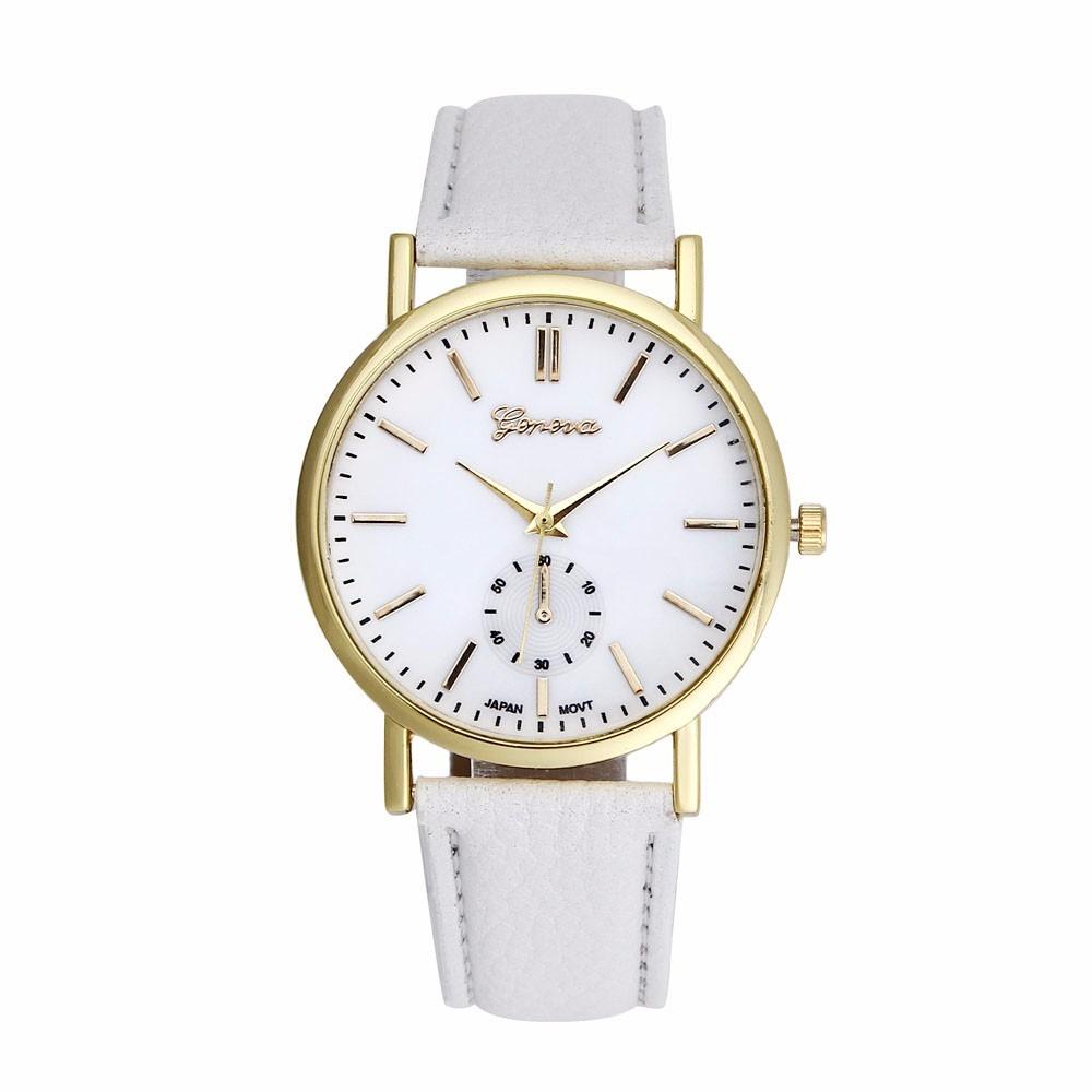 9a0d9b593b5 Relógio Feminino De Pulso Clássico Discreto Bonito E Barato - R  44 ...