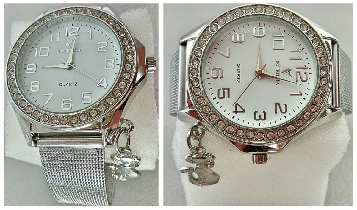 7578f89d3e4 Relógio Feminino De Pulso Luxuoso Importado Modelo Novo Moda - R  38 ...