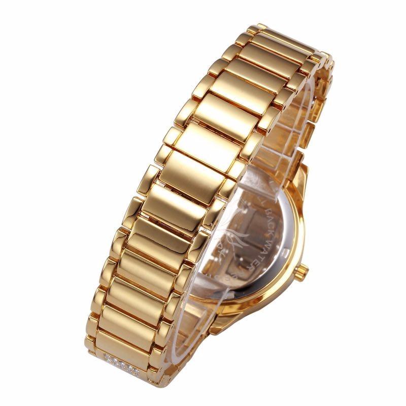 cb97d1cbee7 relógio feminino pulso comprar quartz prata cristais barato. Carregando  zoom.
