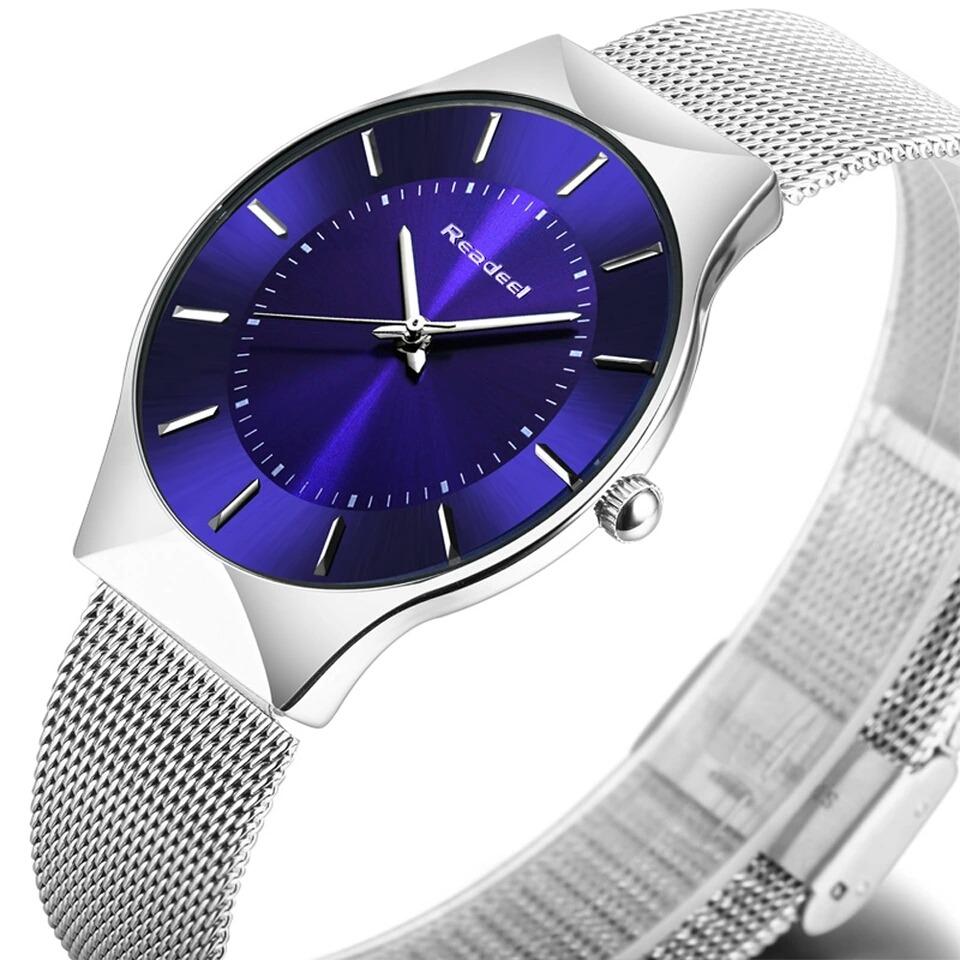 411cd1bb242 relógio feminino readeel importado slim ultra fino. Carregando zoom.