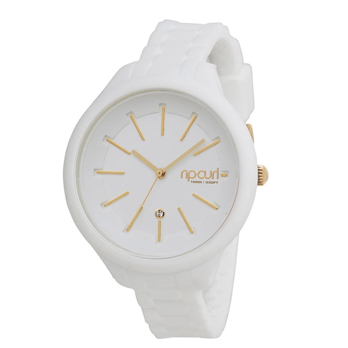 18d950a62ce relógio feminino rip curl alana horizon silicone branco. Carregando zoom.