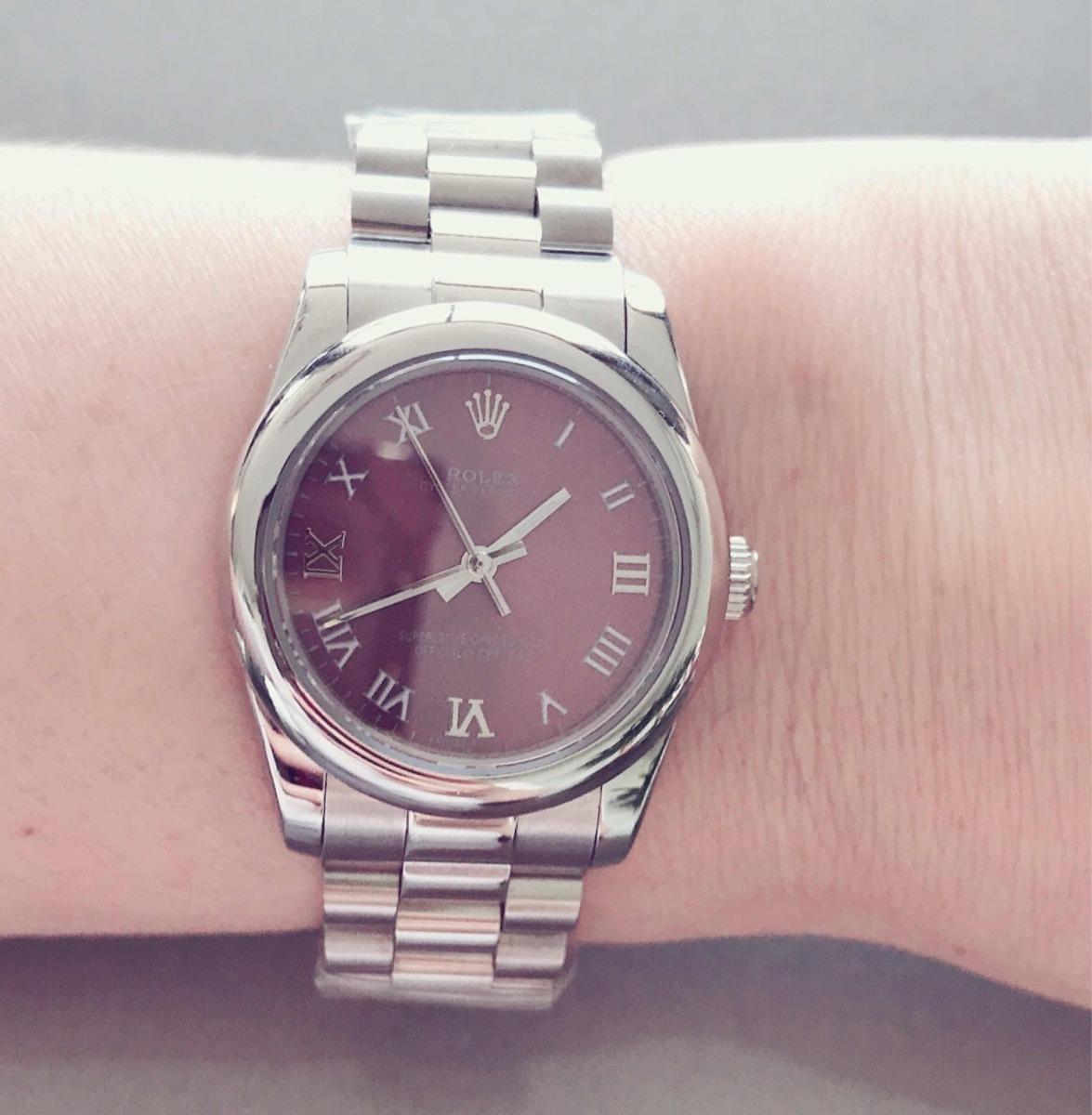 b6dcda0fe30 relógio feminino rolex pulso ( sem caixa ) top réplica. Carregando zoom.